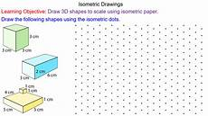 isometric drawings mr mathematics com