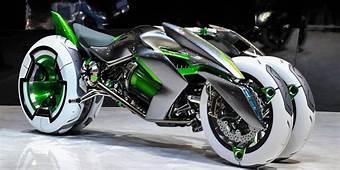 LOOK Kawasakis New Concept Bike Is Insane  Futuristic