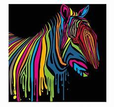 Zebra Flash Pop Canvas Artwall And Co