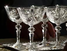 bicchieri cristallo di boemia prague bohemian glass or bohemian crystals