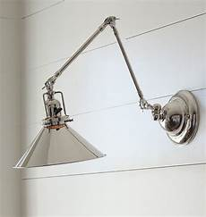 268 reed industrial swing arm wall sconce item a5560 sconces cool lighting wall sconce