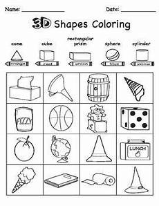 sorting 3d shapes worksheets 7889 3d shape sort color draw shapes worksheet kindergarten shapes worksheets shape sort