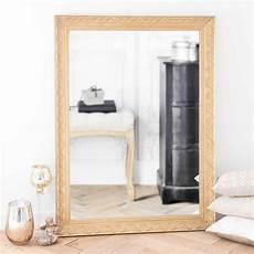 miroir en bois de paulownia dor 233 h 120 cm