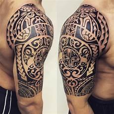 24 tribal shoulder tattoo designs ideas design trends