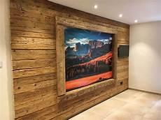 Wandverkleidung Innen Holz - altholz bretter holz wandverkleidung 2 wohnzimmer in