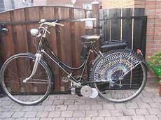 Oldtimer Hilfsmotor Fahrrad Mit Verchromter Bestes