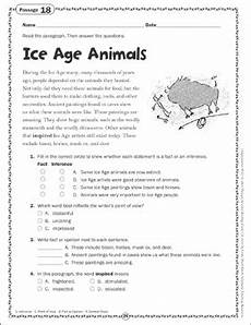 animal reading worksheets 14021 age animals reading passage printable skills sheets and texts