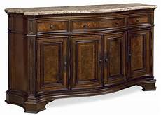 credenza furniture villa cortina marble top storage credenza from universal