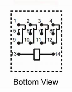 4pdt 48vdc 5a 14 Pin Terminals Relay Technical Data