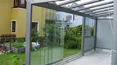 Terrassen Windschutz Glas - glasdach terrasse windschutz und starre