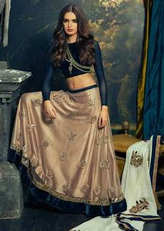 middle parted open hairstyle for lehenga lehenga hairstyles in 2019 indian fashion indian