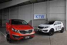 Kia Sportage Tuning - ktw tuning gives new look to kia sportage