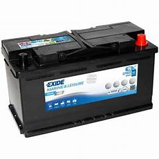 batterie 95 ah exide ep800 dual agm 95ah batterie swissbatt24 ch