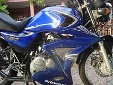 Variasi Warna Motor by Modifikasi Suzuki Thunder 125 Keren Warna Biru Variasi