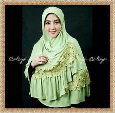 Jilbab Bergo Jumbo Cantik Modis Terbaru Qisya By Qalisya