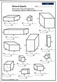 geometry solid volume worksheets 929 calculating the volume of rectangular prisms mathematics skills volume math fifth grade