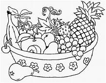 Salad  Free Colouring Pages