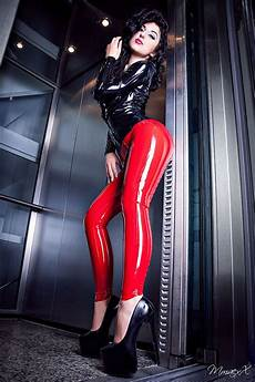 in pvc and luster lycra lustrous