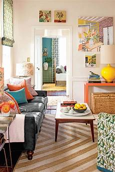 Small Space Home Decor Ideas For Small Living Room by 50 Small Space Decorating Tricks Southern Living