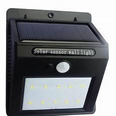 detachable solar led senor light waterproof solar