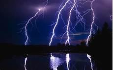 blue lightning full hd desktop wallpapers 1080p