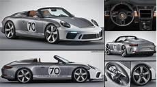 Porsche 911 Speedster Concept 2018 Pictures