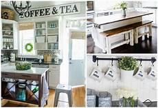 Kitchen Decor Fixer by 11 Diy Farmhouse Kitchen Ideas For Your Fixer Home