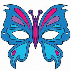 butterfly mask template free printable papercraft templates