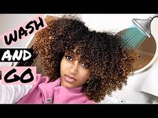 wash day curly hair wash and go for 3b 3c trying two products youtube