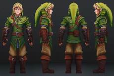 legend of link redesigned polycount