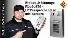 pl960pm ip t 252 rsprechanlage einbau montage m1molter