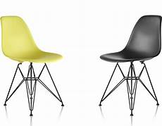 Eames Plastic Chair - eames 174 molded plastic side chair with wire base