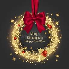 merry christmas happy new year greeting card vector illustration merry christmas happy new year