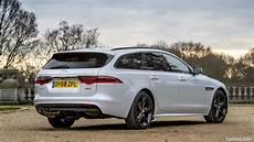 2019 jaguar xf sportbrake 20d awd r sport uk spec rear