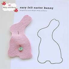 Make An Easy Felt Bunny Molly And