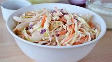 Cole Slaw Rezept - how to make coleslaw easy cabbage slaw recipe