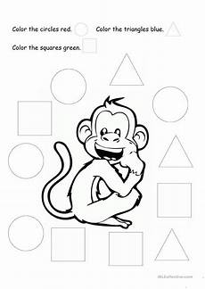 shapes worksheets islcollective 1020 coloring basic shapes esl worksheets