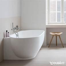Badewanne Halb Freistehend - duravit badewanne ecke rechts mit nahtloser