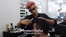 best scissor fade haircut miami youtube
