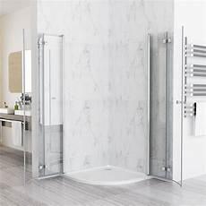 Duschkabine Viertelkreis 80x80 - 80 x 80 cm duschkabine viertelkreis runddusche faltt 252 r 180