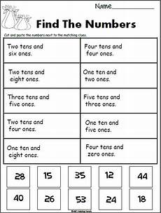 identifying place value worksheets 1st grade 5159 place value fall worksheet 1st grade math worksheets grade worksheets 4th grade math