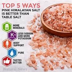 Himalaya Salz Inhaltsstoffe - top 5 ways pink himalayan salt is better than table salt