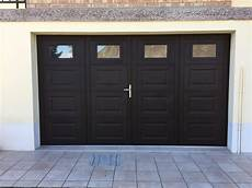 portes de garage battantes dans la manche et le calvados