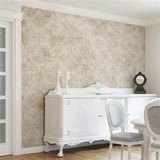 tapeten wohnzimmer landhaus mustertapete antiker damast vliestapete premium