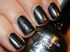 glitter rock roll kleancolor metallic black
