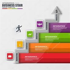 infographics business stair step success vector design template stock vector 169 alexdndz 92881058