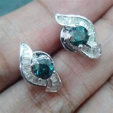 jual cincin berlian biru putih ikat emas di rebanas rebanas