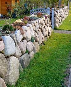 feldsteinmauer selber bauen feldsteinmauern vogel garten und landschaftsbau