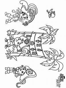 ausmalbilder jake und die nimmerland piraten malvorlagen