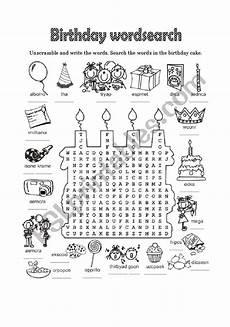 happy birthday worksheets esl 20219 happy birthday 2 of 6 esl worksheet by laurabar